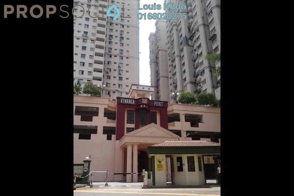 For Sale Condominium at Kenanga Point, Pudu Freehold Semi Furnished 3R/2B 470k