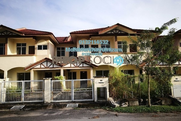 For Sale Terrace at Alam Perdana, Kuala Selangor Freehold Unfurnished 3R/3B 320k