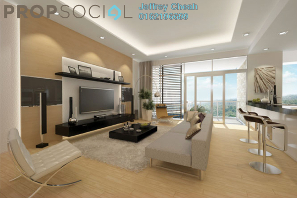 For Sale Condominium at Kenny Hills Residence, Kenny Hills Freehold Semi Furnished 4R/4B 3.9m