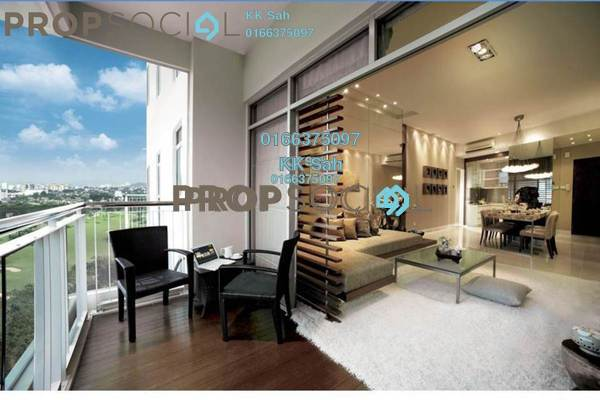 For Sale Condominium at O2 City, Puchong Freehold Semi Furnished 3R/2B 558k