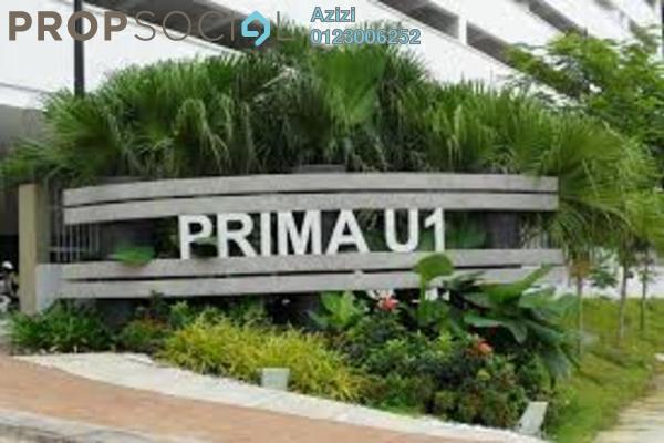 For Sale Condominium at Prima U1, Shah Alam Leasehold Semi Furnished 3R/2B 320k