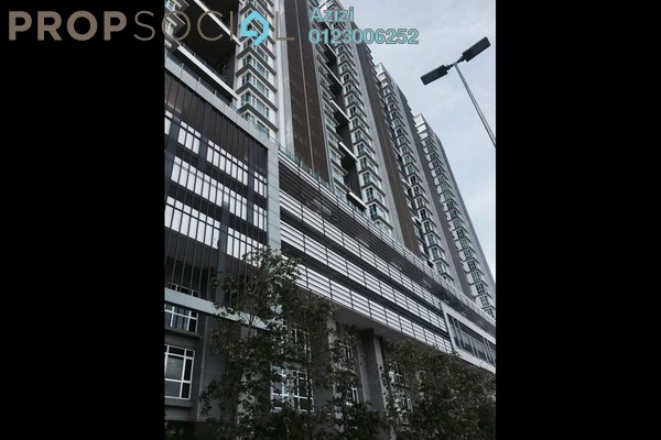For Sale Condominium at The Court, Sungai Besi Freehold Semi Furnished 3R/2B 619k
