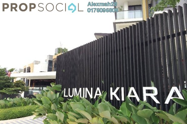 For Rent Condominium at Lumina Kiara, Mont Kiara Freehold Fully Furnished 3R/3B 4k