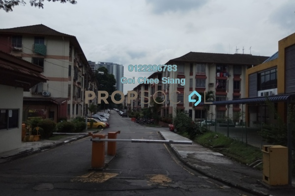 For Sale Apartment at Rampai Court, Setapak Freehold Semi Furnished 2R/1B 325k