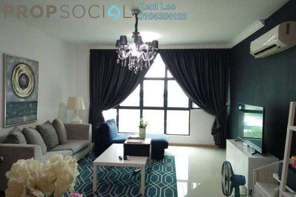 For Sale Condominium at Vista Alam, Shah Alam Freehold Fully Furnished 4R/2B 730k