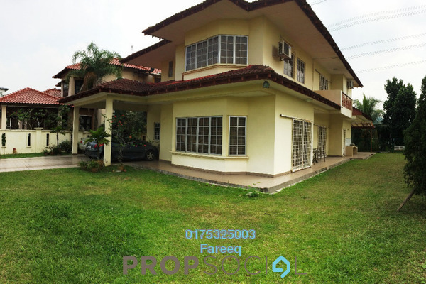 For Sale Bungalow at Section 8, Shah Alam Leasehold Semi Furnished 5R/4B 1.8m