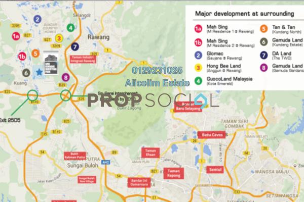 For Sale Factory at Kawasan Perindustrian Kundang, Rawang Freehold Unfurnished 0R/0B 3m