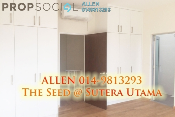 For Rent Townhouse at The Seed @ Sutera Utama, Skudai Freehold Fully Furnished 3R/3B 1.7k