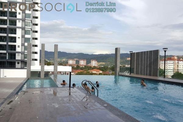 For Rent Condominium at Emerald Residence, Bandar Mahkota Cheras Freehold Semi Furnished 3R/2B 1.1k