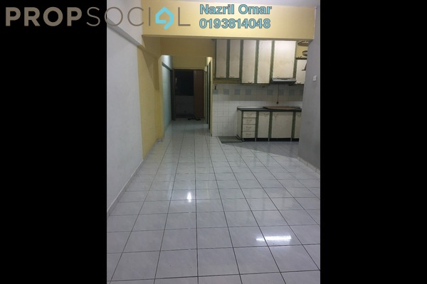 For Rent Apartment at Perdana Apartment, Shah Alam Freehold Semi Furnished 3R/2B 1.3k