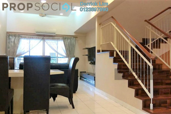 For Sale Condominium at Seri Maya, Setiawangsa Freehold Semi Furnished 4R/2B 1.05m