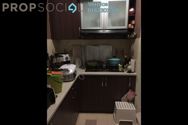For Rent Apartment at Salvia Apartment, Kota Damansara Freehold Semi Furnished 3R/2B 1.25k