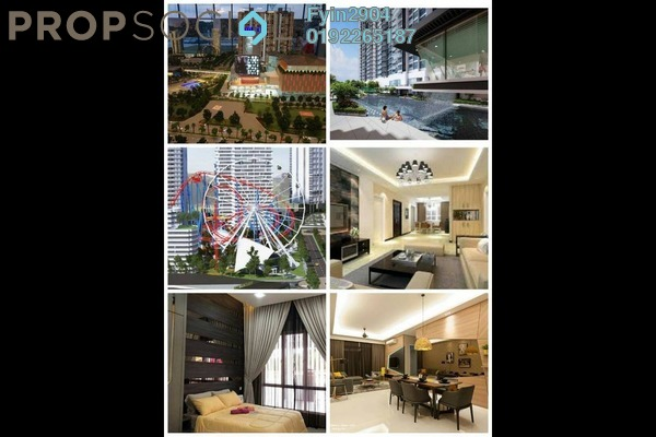 For Sale Condominium at Green Beverly Hills, Putra Nilai Freehold Semi Furnished 1R/1B 210k