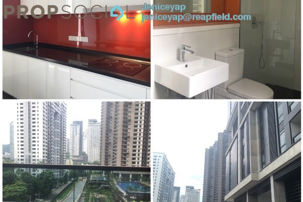 For Rent Condominium at Arcoris, Mont Kiara Freehold Semi Furnished 2R/2B 2.8k