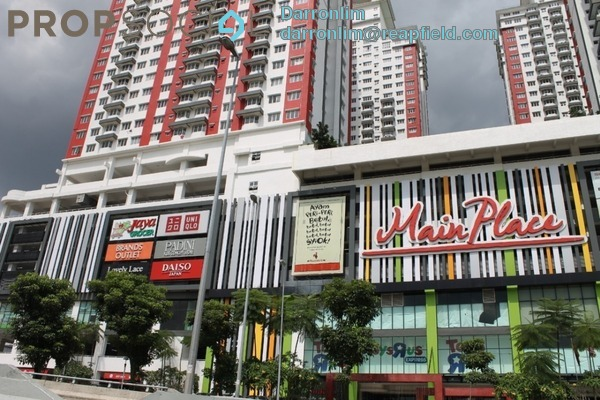 For Rent Condominium at Main Place Residence, UEP Subang Jaya Freehold Fully Furnished 2R/1B 1.7k