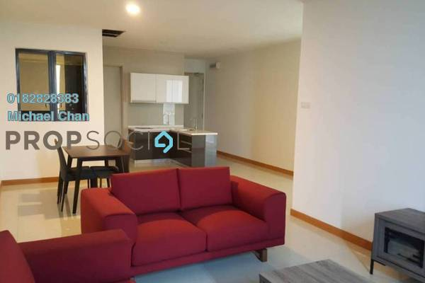 For Sale Serviced Residence at KL Gateway, Bangsar South Leasehold Fully Furnished 2R/2B 900k