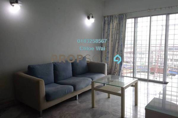 For Sale Condominium at Taman Abadi Indah, Taman Desa Freehold Semi Furnished 3R/2B 310k