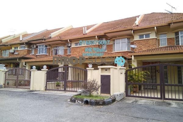 For Sale Link at Section 3, Bandar Mahkota Cheras Freehold Semi Furnished 4R/3B 628k