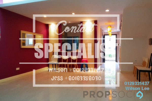 For Sale Terrace at Adiva, Desa ParkCity Freehold Semi Furnished 3R/3B 1.66m