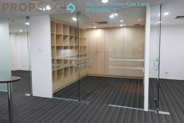 For Rent Office at Wisma UOA II, KLCC Freehold Semi Furnished 0R/0B 4.8k