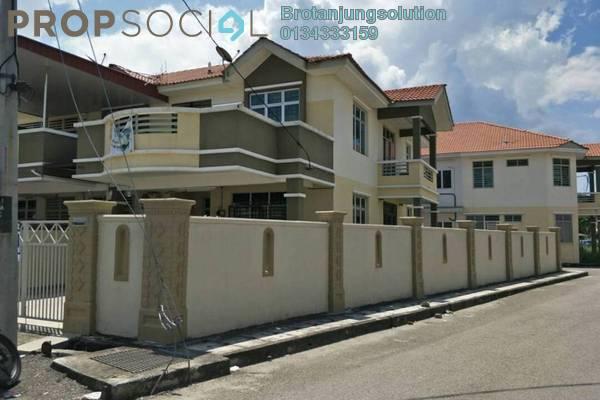 For Sale Terrace at Taman Limbungan Indah, Butterworth Freehold Semi Furnished 4R/3B 655k