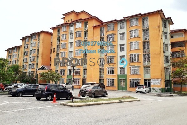 For Sale Apartment at Seroja Apartment, Puchong Leasehold Unfurnished 3R/2B 210k