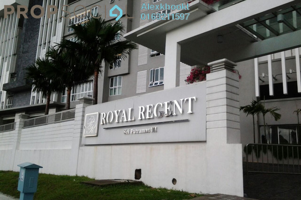 For Sale Condominium at Royal Regent, Dutamas Freehold Semi Furnished 3R/2B 638k