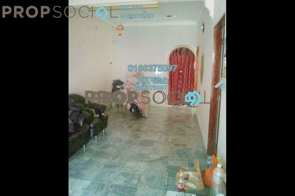 For Sale Terrace at Taman Sentosa, Klang Freehold Semi Furnished 3R/2B 280k