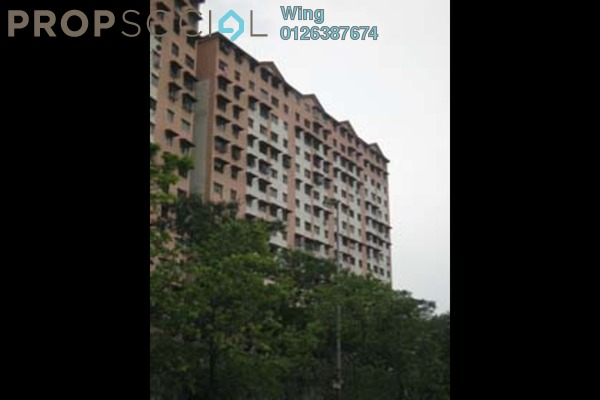 For Sale Apartment at Lestari Apartment, Damansara Damai Leasehold Semi Furnished 3R/2B 102k