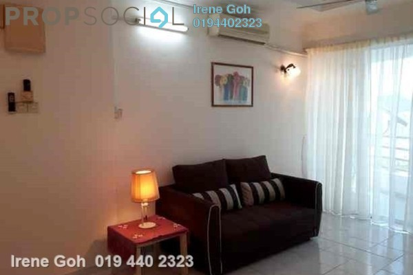 For Rent Condominium at N-Park, Batu Uban Freehold Fully Furnished 3R/2B 1.3k