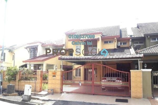 For Sale Terrace at Suadamai, Bandar Tun Hussein Onn Freehold Semi Furnished 4R/3B 870k