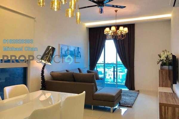 For Sale Condominium at Sunway GEO Residences, Bandar Sunway Freehold Fully Furnished 2R/2B 870k