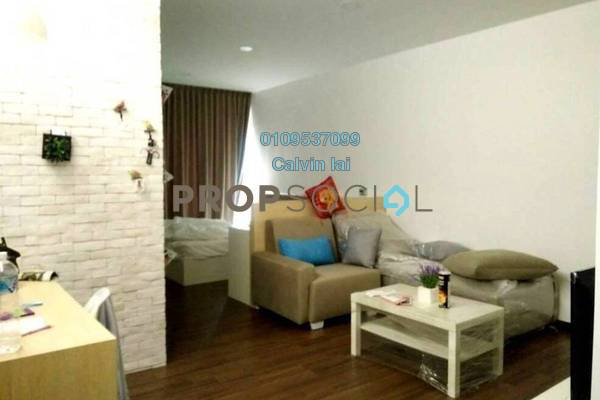 For Rent SoHo/Studio at Silk Sky, Balakong Freehold Fully Furnished 1R/1B 1.25k