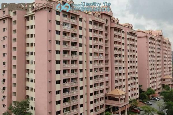 For Sale Condominium at Anggerik Villa 2, Kajang Freehold Semi Furnished 3R/2B 215k