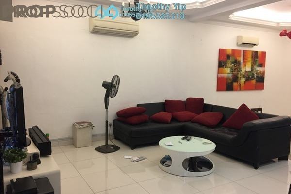 For Sale Terrace at Taman Damai Indah, Cheras South Freehold Fully Furnished 4R/3B 605k