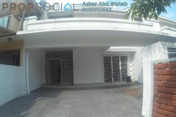 For Sale Terrace at Taman Sri Rampai, Setapak Freehold Unfurnished 4R/4B 890k