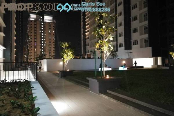 For Sale Condominium at V-Residensi 2, Shah Alam Freehold Semi Furnished 3R/2B 550k
