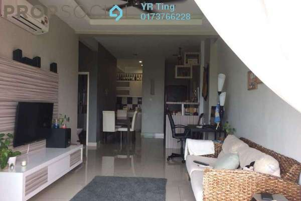 For Sale Condominium at The Tropicana Residences, Melaka Freehold Fully Furnished 2R/2B 468k