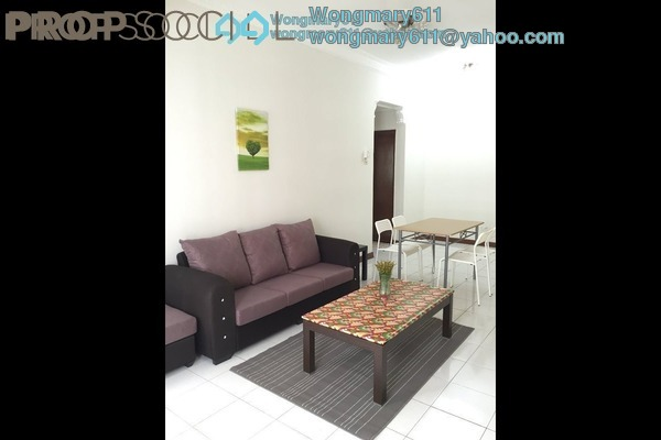 For Rent Condominium at Pearl Point Condominium, Old Klang Road Freehold Semi Furnished 3R/2B 1.7k