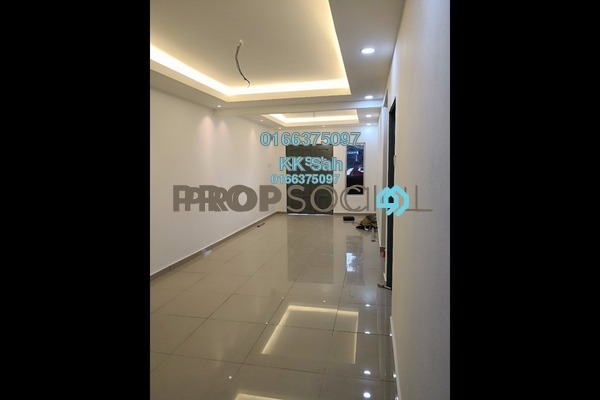 For Sale Terrace at Taman Sentosa Perdana, Klang Freehold Semi Furnished 3R/2B 349k