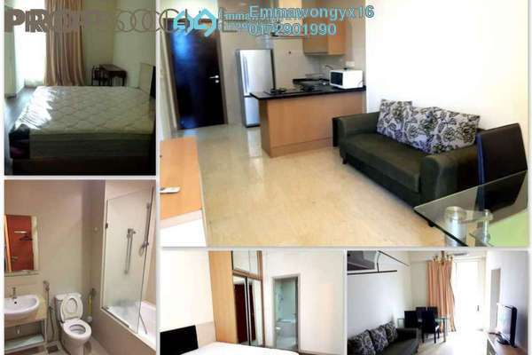 For Rent SoHo/Studio at 231 TR, KLCC Freehold Fully Furnished 1R/1B 2.2k