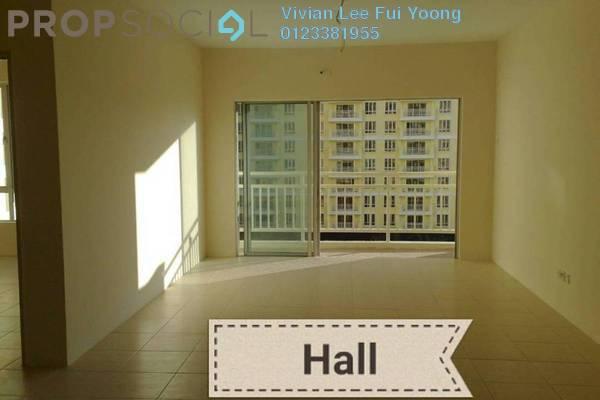 For Sale Condominium at Platinum Lake PV12, Setapak Freehold Semi Furnished 3R/2B 448k