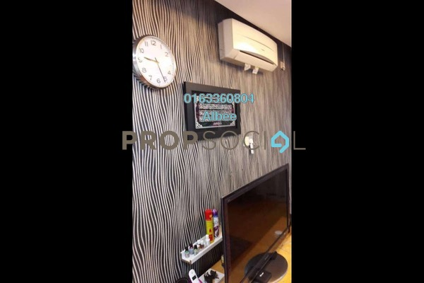 For Rent Condominium at Perdana Exclusive, Damansara Perdana Freehold Fully Furnished 2R/1B 1.6k