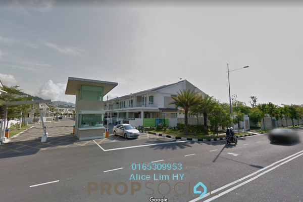For Sale Terrace at Sathu Terraces, Sungai Ara Freehold Fully Furnished 4R/4B 1.89m