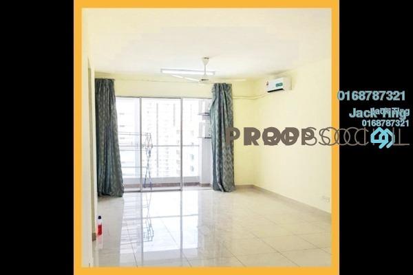 For Rent Condominium at Platinum Hill PV2, Setapak Freehold Semi Furnished 4R/2B 2.3k