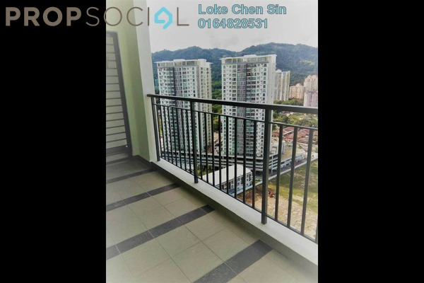 For Rent Condominium at Imperial Residences, Sungai Ara Freehold Semi Furnished 3R/2B 1.2k