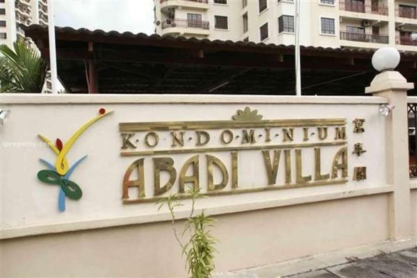 For Sale Condominium at Abadi Villa, Taman Desa Freehold Semi Furnished 3R/2B 520k