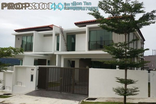 For Sale Semi-Detached at Taman Titi Heights, Balik Pulau Freehold Unfurnished 5R/5B 1.23m