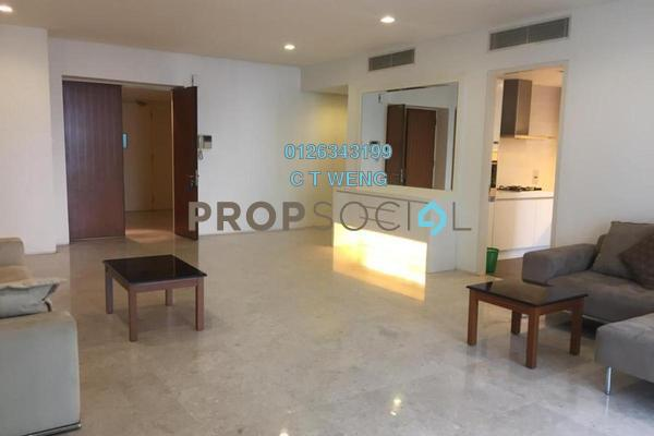 For Rent Condominium at K Residence, KLCC Freehold Semi Furnished 3R/5B 8k