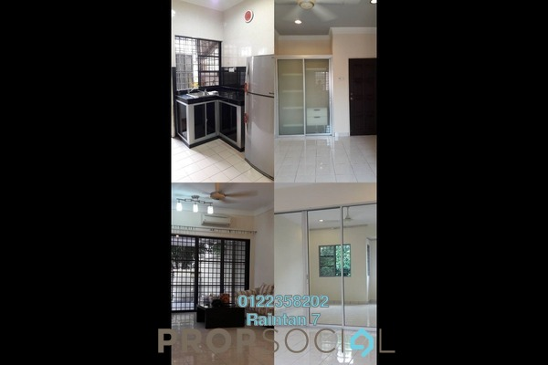 For Rent Terrace at Damai Perdana, Bandar Damai Perdana Freehold Semi Furnished 4R/3B 1.6k